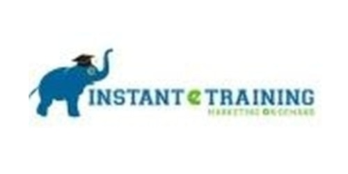 Instant E-Training coupon
