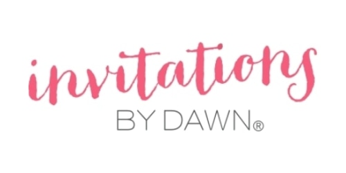 Invitations by Dawn coupon