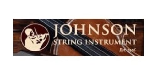Johnson String Instrument coupon