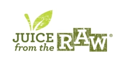 Juice From the RAW coupon
