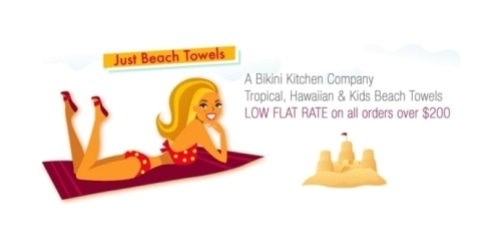 Just Beach Towels coupon