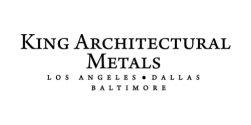King Architectural Metals coupon