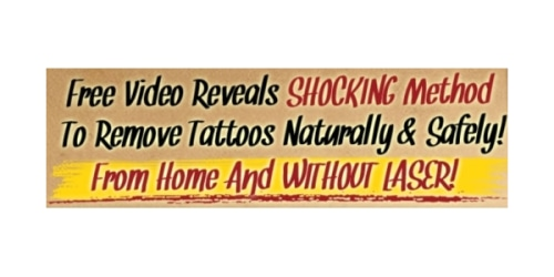 Laserless Tattoo Removal coupon