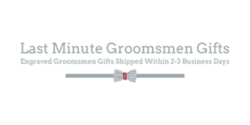 Last Minute Groomsmen Gifts coupon