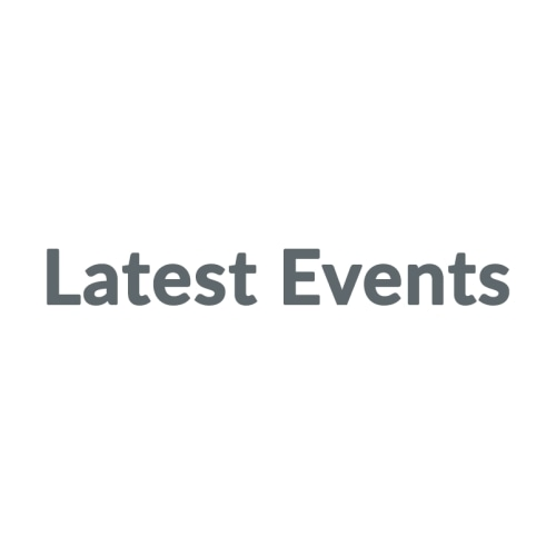 Latest Events