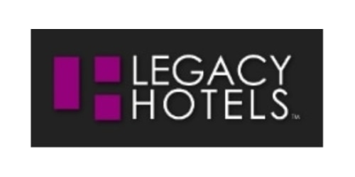 Legacy Hotels coupon