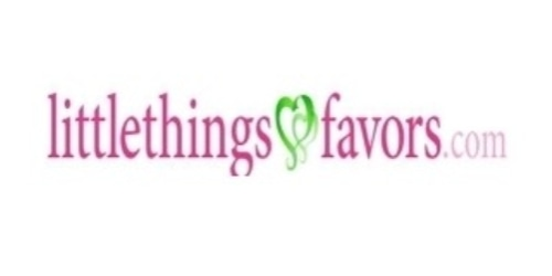 Little Things Favors coupon