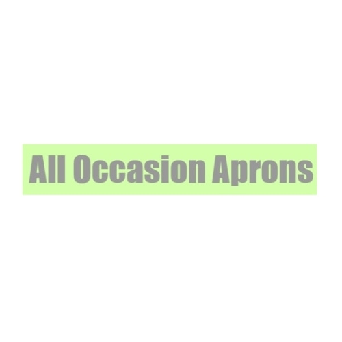 All Occasion Aprons