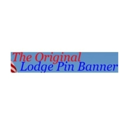 The Lodge Pin Banner