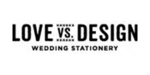 Love vs Design coupon
