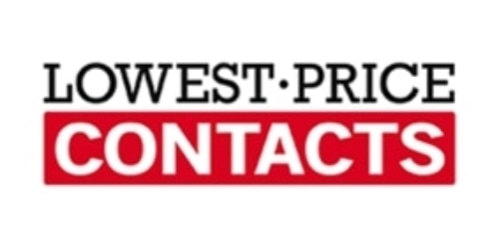 Lowest Price Contacts coupon