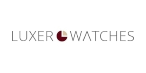Luxer Watches coupon