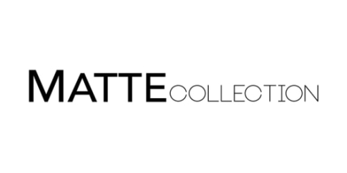Matte Collection coupon