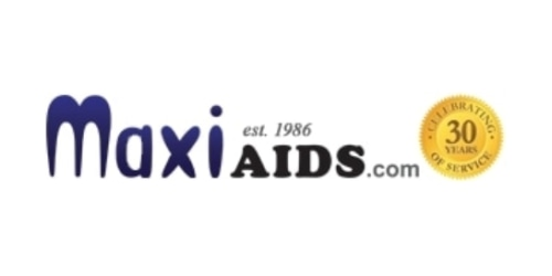 MaxiAids coupon