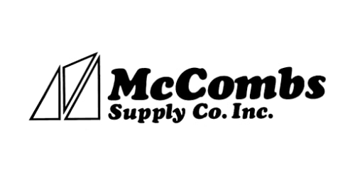 McCombs Supply coupon