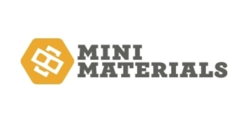 Mini Materials coupon
