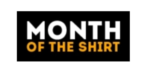 Month of the Shirt coupon