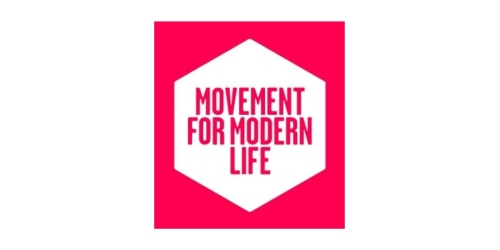 Movement For Modern Life coupon