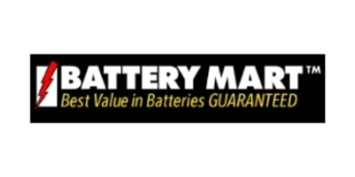 My Battery Mart coupon