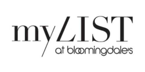 My List at Bloomingdale's coupon