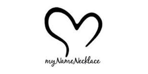 My Name Necklace coupon