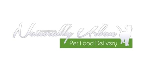 Naturally Urban Pet Food Delivery coupon