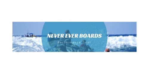 Never Ever Boards coupon