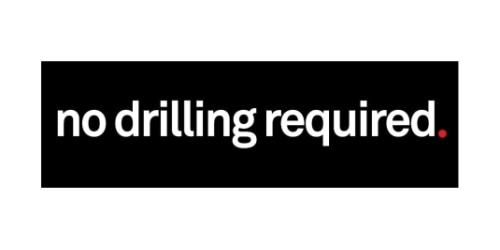 no drilling required. coupon