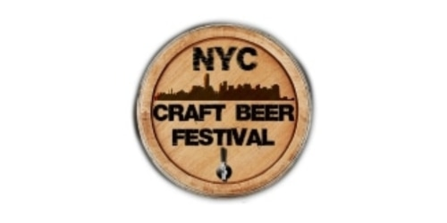 NYC Craft Beer Fest coupon