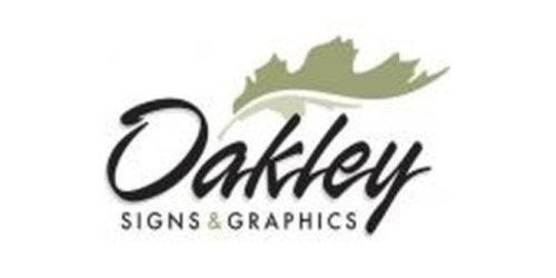 Oakley Signs & Graphics coupon