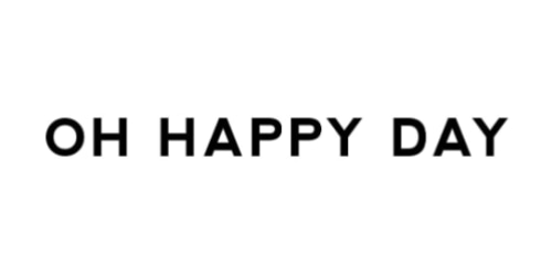 Oh Happy Day coupon