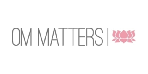 OM Matters coupon