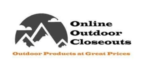 Online Outdoor Closeouts coupon