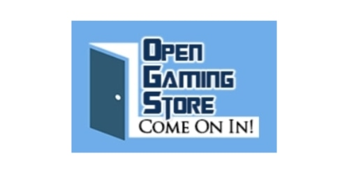 Open Gaming Store coupon