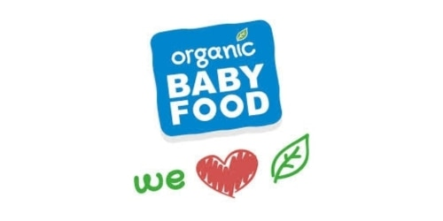 Organic Baby Food 24 coupon