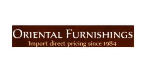 Oriental Furnishings coupon