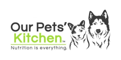 Our Pets' Kitchen coupon