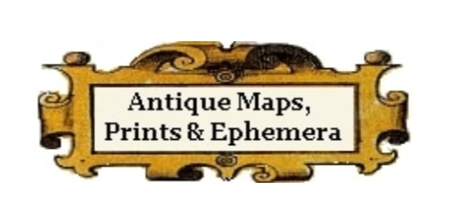 Antique Maps and Prints coupon