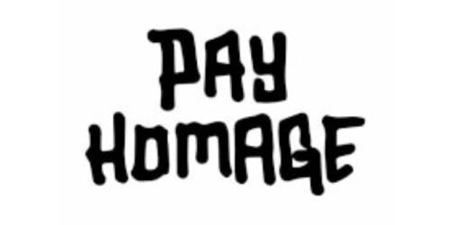 Pay Homage coupon