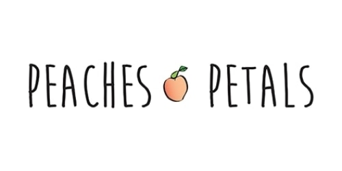 Peaches and Petals coupon