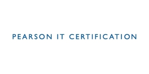 Pearson IT Certification coupon