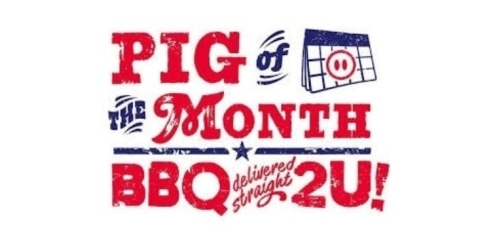 Pig of the Month BBQ coupon