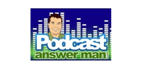 Podcast Answer Man coupon