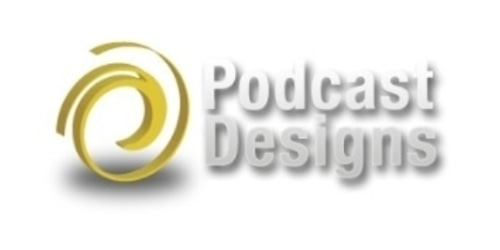Podcast Designs coupon