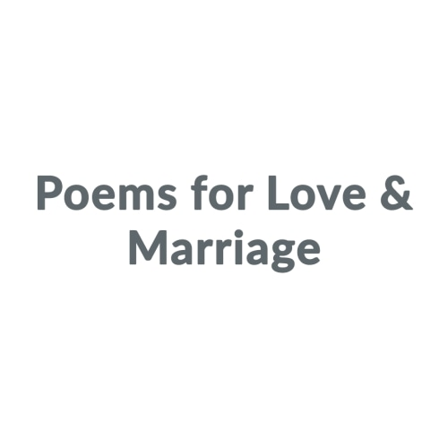 Poems for Love & Marriage