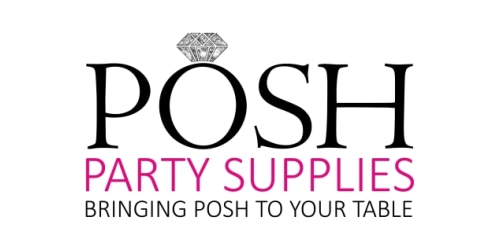 Posh Party Supply coupon