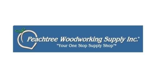 Peachtree Woodworking Supply coupon
