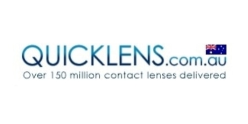 Quicklens Australia Contact Lenses coupon