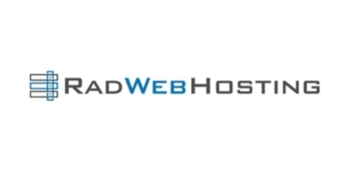 Rad Web Hosting coupon
