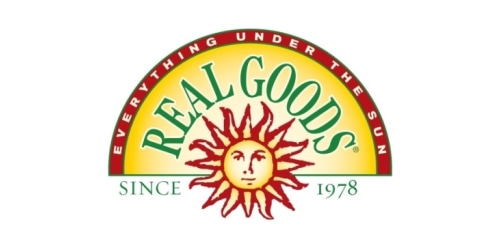Real Goods coupon